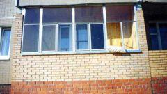 Как пристроить балкон на первом этаже
