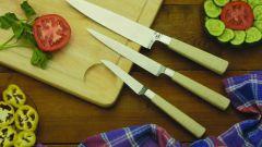 Как точить кухонные ножи