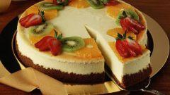 Как готовить легкий торт
