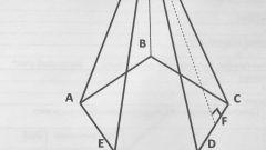 Как найти площадь поверхности пирамиды