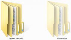 Как открыть скрытые папки в компьютере