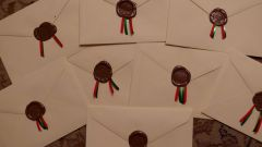 Как писать индекс на конвертах