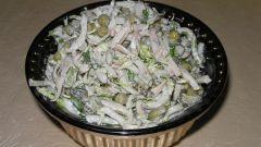 Как готовить салат с кальмарами