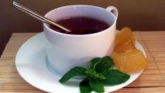 Как пить чай с имбирем