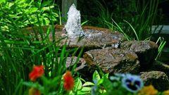 Как сделать фонтан без насоса