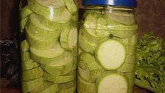 Как консервировать кабачки