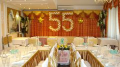 How to arrange a room for an anniversary