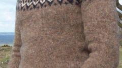 Как связать простой свитер