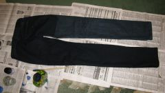 How to dye black jeans