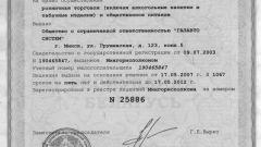 Как получить лицензию на розничную торговлю