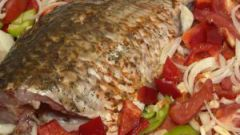 How to bake whole fish