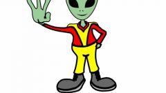 Как рисовать инопланетянина