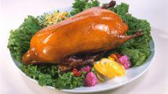 Как приготовить праздничного гуся