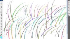 Как сделать кисти цветными