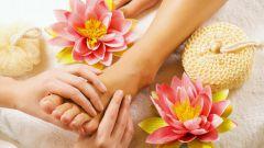 Как делать массаж стопы