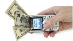 Как снять деньги на Билайне