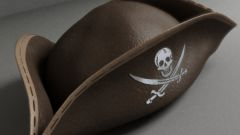 How to make a pirate Tricorn