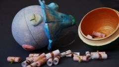 Как сделать шар из папье-маше