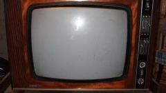 How to set an old TV