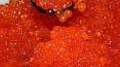 Как солить красную икру горбуши