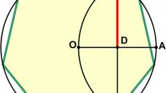 Как начертить семиугольник
