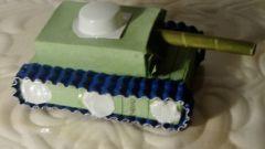 Как сделать танк из спичечного коробка