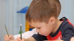 Как научить первоклассника писать