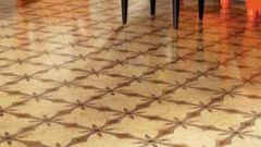 How to put linoleum on a concrete floor