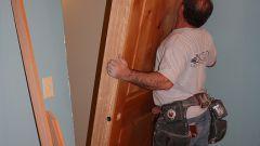 Как расширить дверной проем