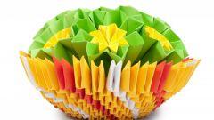 Как сделать объемные оригами