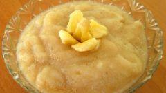 Как приготовить яблочное пюре для малыша