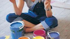Как очистить одежду от краски