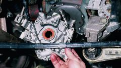 How to check the oil pump