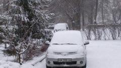 Как помыть машину в мороз