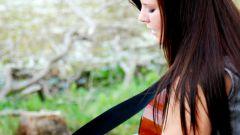 Как крепить ремень к гитаре