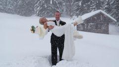 Как провести свадьбу зимой