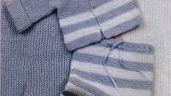 How to knit baby pants