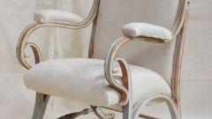 Как обтянуть кресло