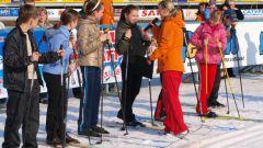 Как научиться бегать на лыжах