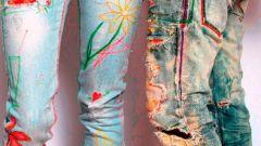 Как украсить одежду своими руками