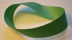 Как сделать ленту Мёбиуса из бумаги