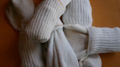 Как складывать носки