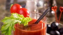 Как приготовить томатный сок