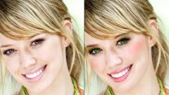 Как нанести макияж в фотошопе