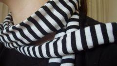 Как надевать шарф