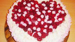 Как готовить торт с малиной