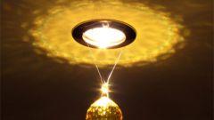 Как заменить точечный светильник