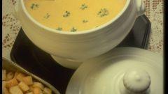 Как приготовить сырный крем-суп