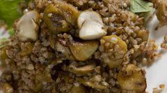 Как приготовить гречку с подливой
