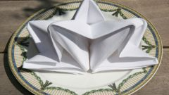 Как сложить красиво бумажные салфетки в салфетницу
